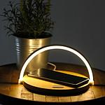 Lampe de chevet tactile chargeur induction