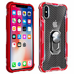 Avizar Coque Rouge Hybride pour Apple iPhone X , Apple iPhone XS