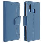 Avizar Etui folio Bleu pour Samsung Galaxy A40