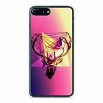 1001 Coques Coque silicone gel Apple IPhone 8 Plus motif Cerf Hipster