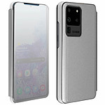 Avizar Etui folio Argent pour Samsung Galaxy S20 Ultra