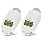 EQ-3 Pack De 2 Têtes Thermostatiques Pour Radiateur Avec Bluetooth - Eq-3 EQ3_LOT2_THERMO_BLU