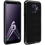 Avizar Coque Noir Hybride pour Samsung Galaxy A6