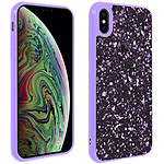 Avizar Coque Violet pour Apple iPhone XS Max