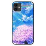 1001 Coques Coque silicone gel Apple iPhone 11 motif Hanami
