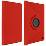 Avizar Etui folio Rouge pour Samsung Galaxy Tab A7 10.4 2020