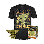 Gremlins - Set figurine et T-Shirt POP! & Tee Gizmo heo Exclusive - Taille L
