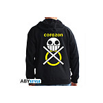 One Piece - Sweat homme black Corazon - Taille XL
