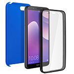 Avizar Coque Bleu Nuit pour Huawei Y5 2018 , Honor 7S