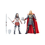 Thor : Un monde obscur - Pack 2 figurines Marvel Legends Series Thor & Sif 15 cm