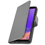 Avizar Etui folio Gris pour Samsung Galaxy A7 2018