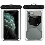 Avizar Brassard sport Transparent pour Tous les smartphones ayant une dimension maximale de 100 x 170 mm