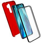 Avizar Coque Rouge pour Xiaomi Redmi Note 8 Pro