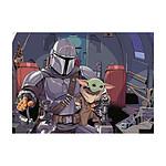 Star Wars The Mandalorian - Puzzle Cartoon (1000 pièces)