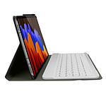 Avizar Clavier sans fil Dorée pour Samsung Galaxy Tab S7 Plus 12.4