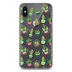 1001 Coques Coque silicone gel Apple iPhone XS Max motif Cactus