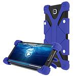 Avizar Coque Bleu pour Smartphones de 3.8' à 4.7'
