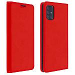 Avizar Etui folio Rouge pour Samsung Galaxy A51