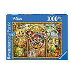 Disney - Puzzle Les plus beaux thèmes  (1000 pièces)