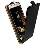Avizar Etui à clapet Noir pour Samsung Galaxy J3 2017