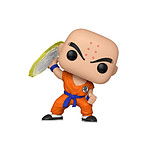 Dragon Ball Z - Figurine POP! Krillin w/ Destructo Disc 9 cm