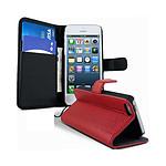 Lapinette Etui Housse Portefeuille Pour Apple Iphone 5c Rouge