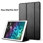 EVETANE Etui smart cover avec coque noir Pour iPad Pro 10,5 : A1701-A1709-A1852