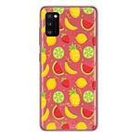 1001 Coques Coque silicone gel Samsung Galaxy A31 motif Fruits tropicaux
