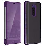 Avizar Etui folio Violet pour Sony Xperia 1