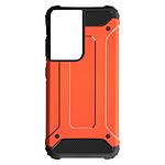 Avizar Coque Orange pour Samsung Galaxy S21 Ultra