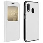 Avizar Etui folio Blanc pour Samsung Galaxy A20e