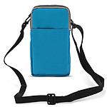 Avizar Pochette Turquoise pour Tous les Appareils d'une hauteur max. de 18 cm et d'une largeur jusqu'à 10 cm