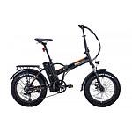 MoovWay Vélo électrique pliable FATBIKE V2 Noir