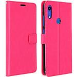 Avizar Etui folio Rose pour Huawei Y6 2019,Honor 8A