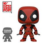 Marvel - Figurine Super Sized POP! Deadpool Two Sword Red Deadpool 25 cm