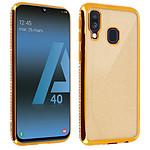 Avizar Coque Dorée pour Samsung Galaxy A40