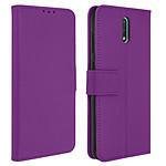 Avizar Etui folio Violet pour Nokia 2.3