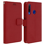 Avizar Etui folio Rouge pour Honor 20 Lite , Honor 20e