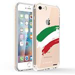 EVETANE Coque iPhone 7/8/ iPhone SE 2020 360 intégrale transparente Italie Tendance