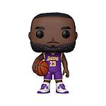 NBA - Figurine POP! Super Sized LeBron James (Purple Jersey) 25 cm