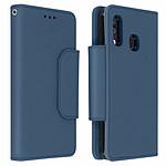Avizar Etui folio Bleu Nuit pour Samsung Galaxy A40