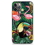 1001 Coques Coque silicone gel Apple iPhone 11 Pro motif Tropical Toucan