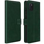 Avizar Etui folio Vert pour Samsung Galaxy Note 10 Lite