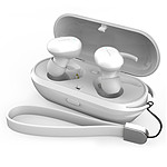 WEE'PLUG Ecouteurs intra-auriculaires sans fil i15 Blanc