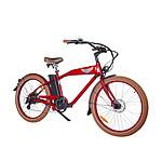 Ariel Rider Velo electrique  W-class Comfort rouge Vitesse 25km/h