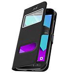 Avizar Etui folio Noir pour Samsung Galaxy Xcover 4 , Samsung Galaxy Xcover 4s