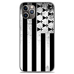 1001 Coques Coque silicone gel Apple iPhone 11 Pro motif Drapeau Bretagne