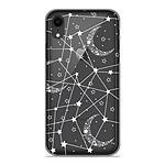 1001 Coques Coque silicone gel Apple iPhone XR motif Lignes étoilées