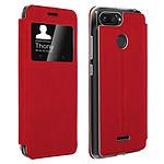 Avizar Etui folio Rouge pour Xiaomi Redmi 6A , Xiaomi Redmi 6
