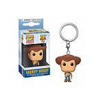 Toy Story 4 - Porte-clés Pocket POP! Woody 4 cm